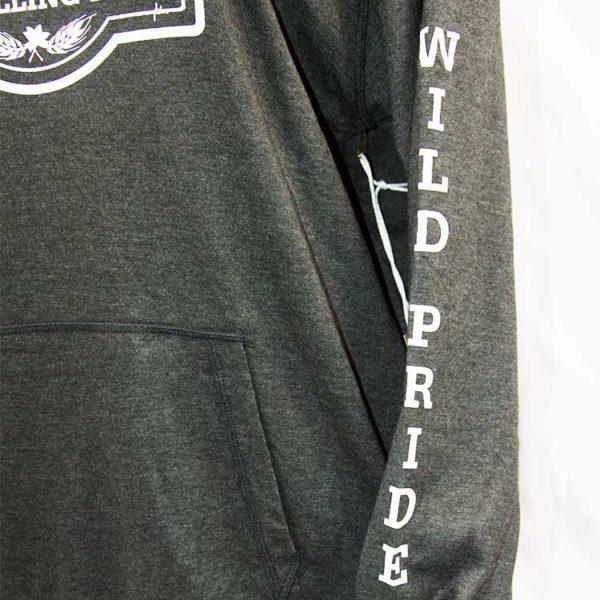Bandits Distillery Hoodie Dark Strings Sleeve