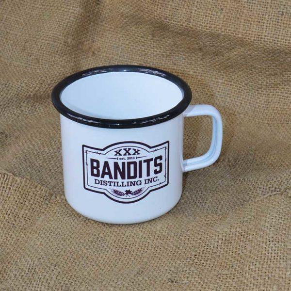 Bandits Distillery Tin Mug